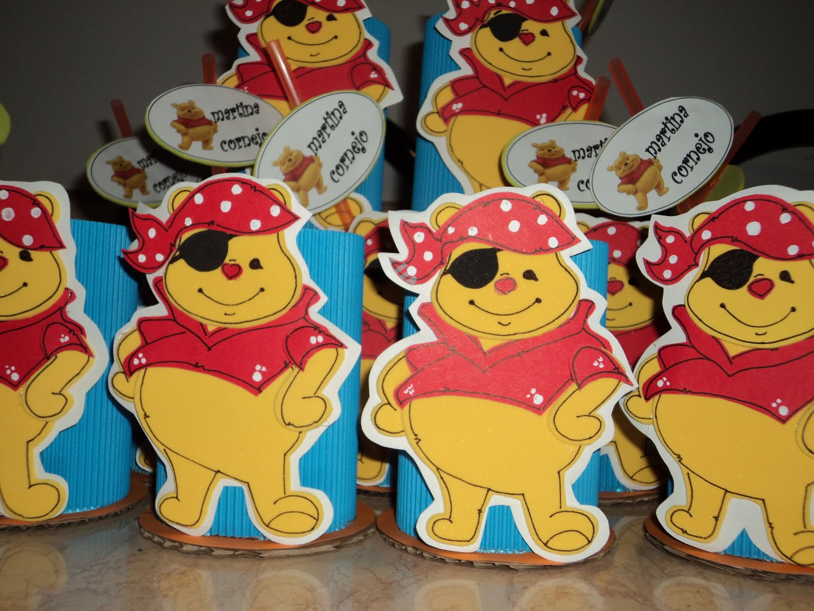 fiestas infantiles cajita sorpresera foamy moldes piglet