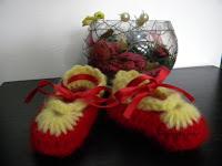 "pantofiori bebe ""flower"