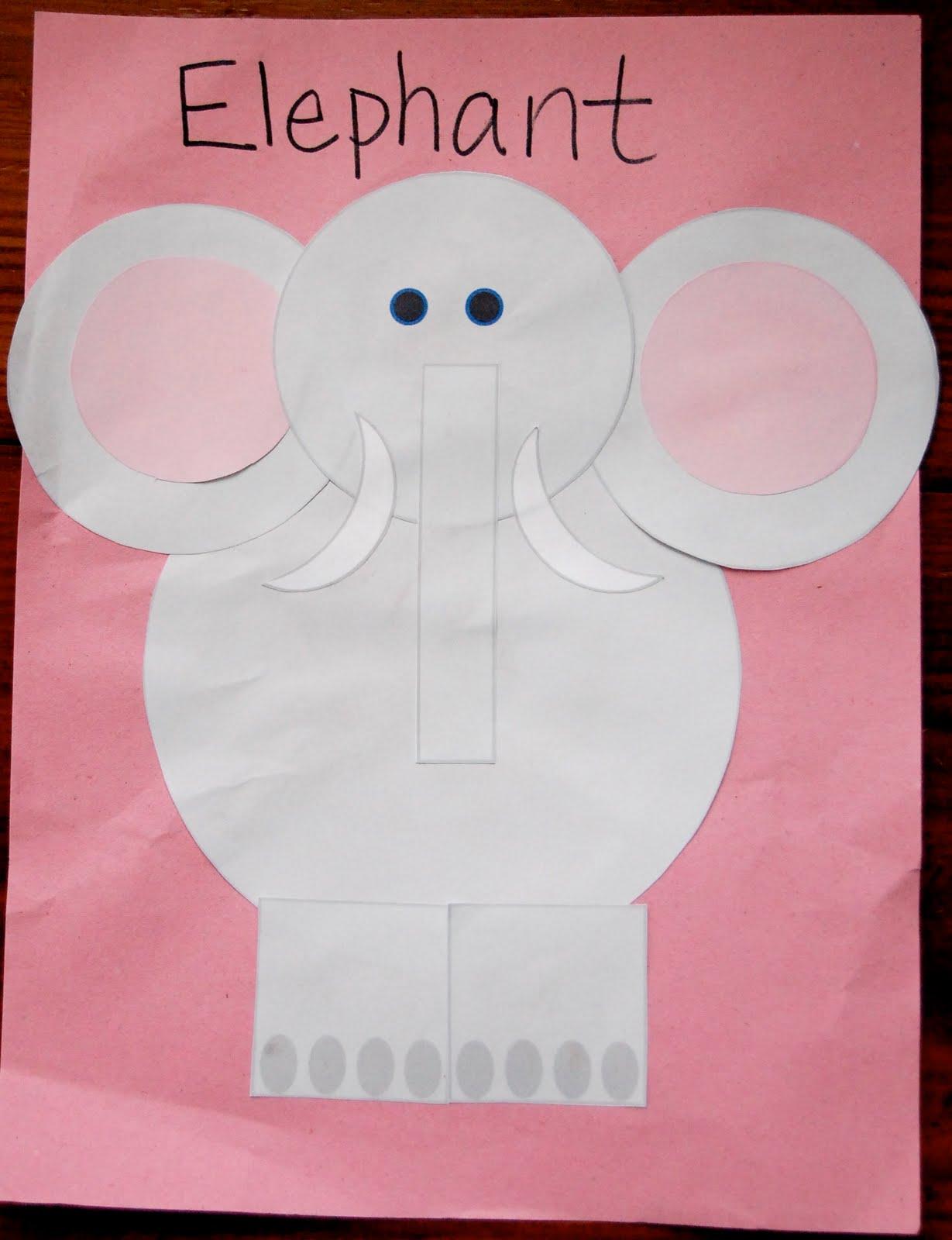elephant crafts for preschool learning 4 november 2009 780