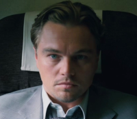 Leonardo DiCaprio has the lead role in the movie Inception.