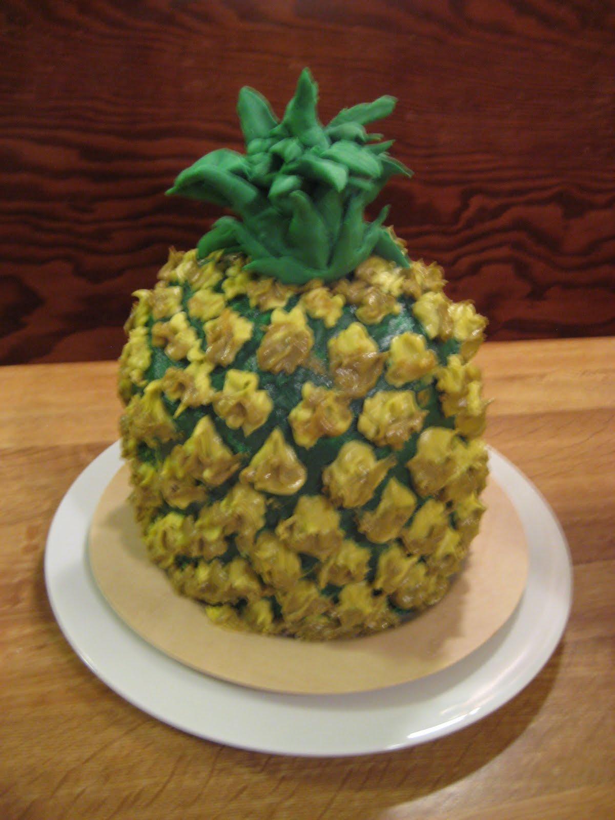 Amy Kucharik Creative Pineapple Cake