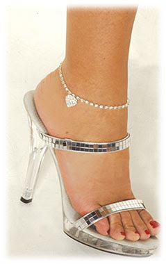 white gold anklets Beautiful Anklets