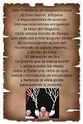 Un premio de Fabio,amigazo en  España