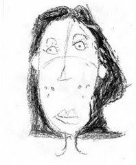 Mulher pensando (em Picasso?)