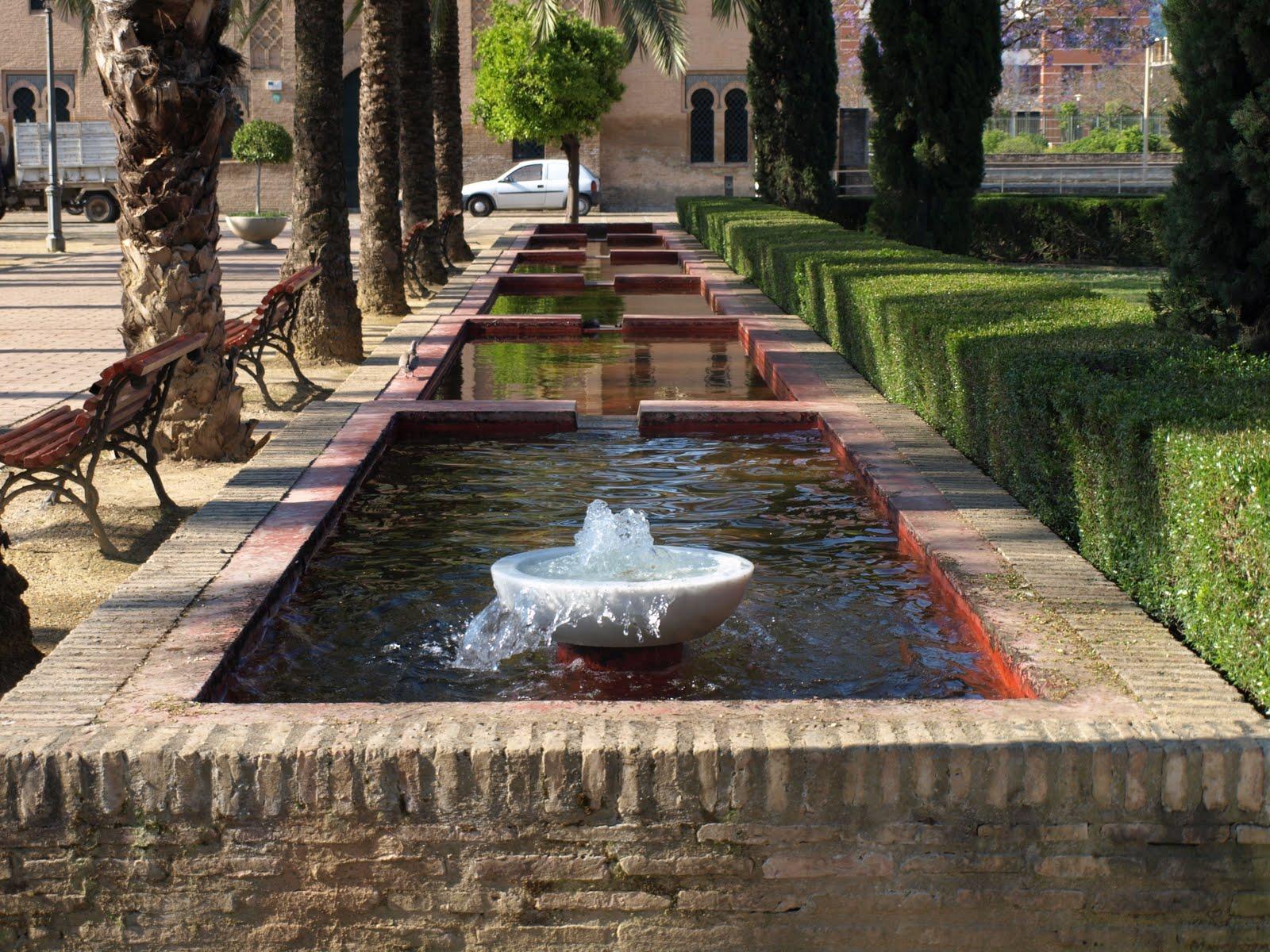 Sevilla daily photo el agua de la buhaira - Jardines del eden sevilla ...