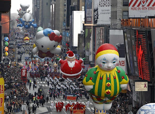 парад в Нью-Йорке