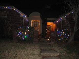 праздничное украшение дома