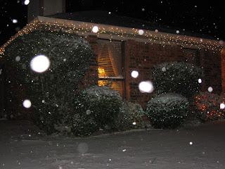 снег в Техасе