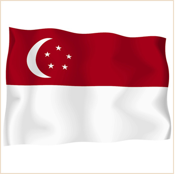 Singapore Flag Pictures  Ristriction on We Wish Singapore A Very Happy Birthday