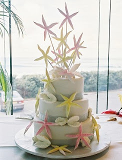 Starfish Wedding Cake Ideas