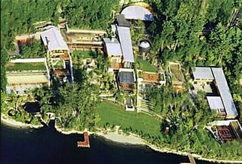 the house of Bill Gates,