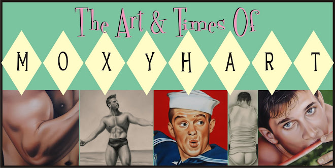 The art &amp; times of Moxy Hart | gay art | homoerotica | queer art | male nudes