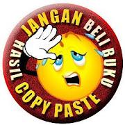 Jangan beli buku hasil copy paste