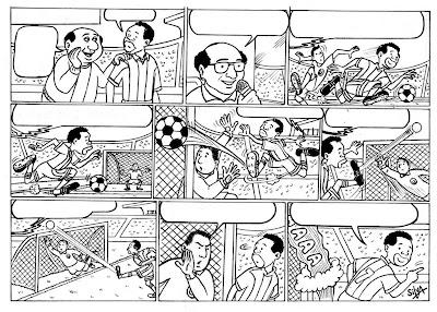 """Colectivo Kiwicha- Artistas Ilustradores Perú: """"Entrenamiento de ..."""
