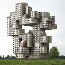 Crazy Building Image