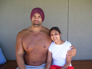 Raw and Smackdown superstar the great khali