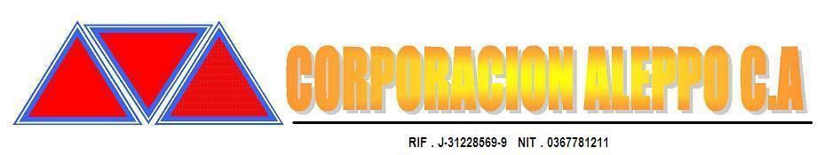 CORPORACION ALEPPO C.A