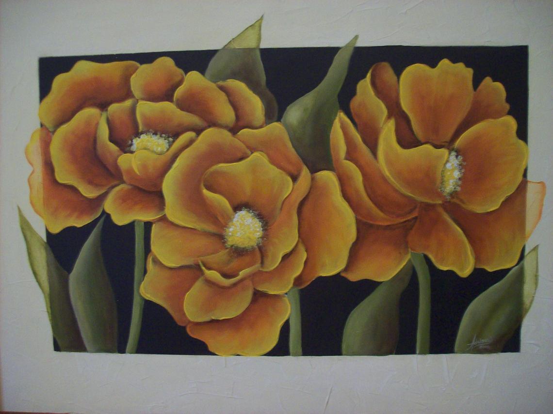 Imagenes De Cuadros Con Flores Blancas - Hiperrealismo Máximo en Cuadros de Flores (Magnolias)