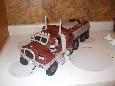 Enviro Truck Cake