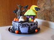 Halloween cake for the south gillies fire hall