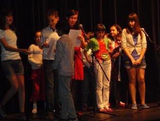 Entrega de diplomas recitadores
