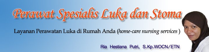 Perawat Homecare Spesialis Luka