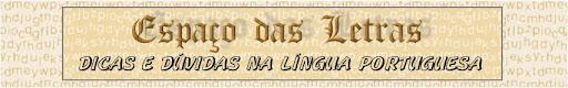 e-Letras - dicas da Língua Portuguesa