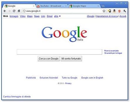 facebook-italia: Google Chrome 8, download e novità PDF ...