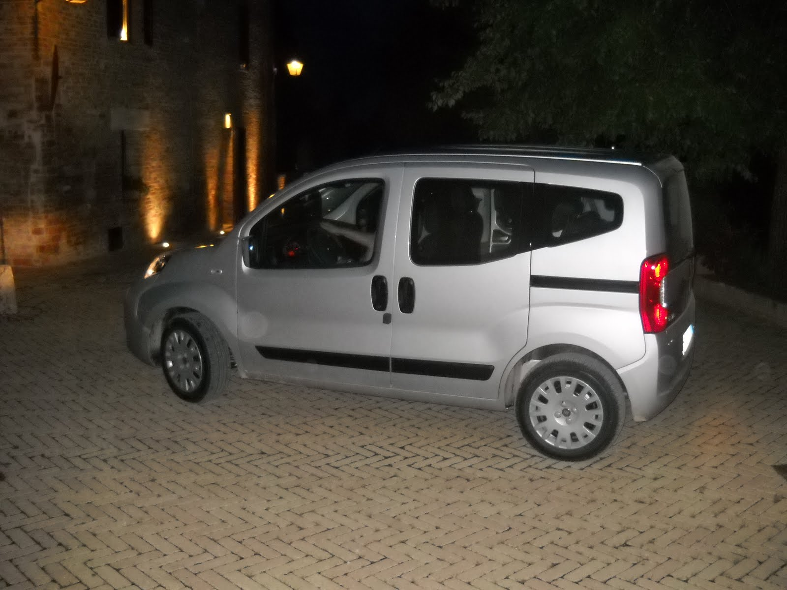 cute car the Fiat Qubo.