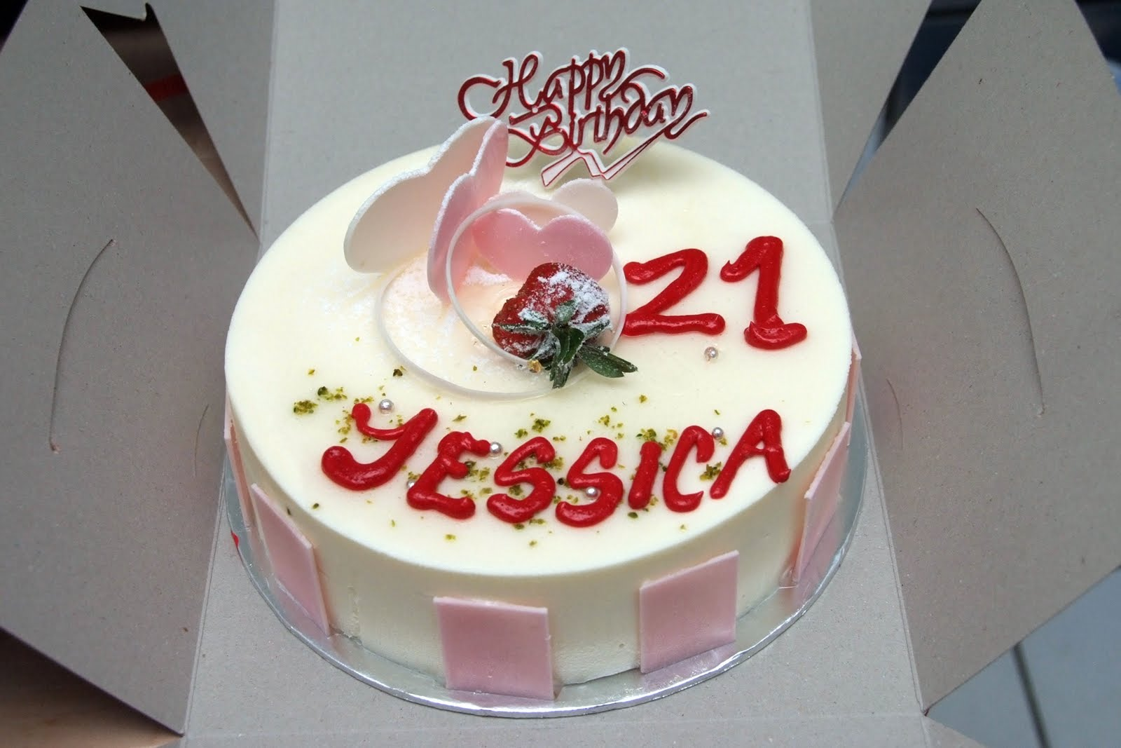 Forest Han Happy 21st Birthday Jessica