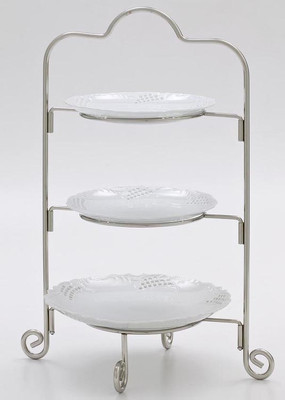 Tea Party Three Tier Cake Stand