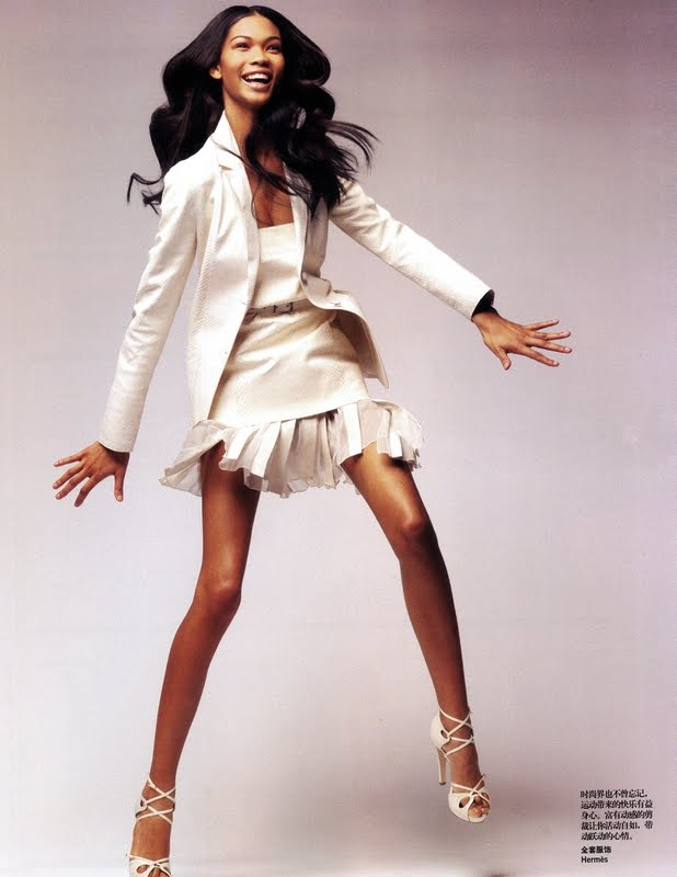 chanel iman vogue. Models: Chanel Iman