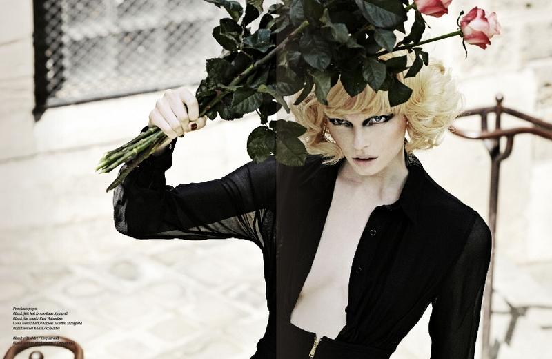 hot style woman: Schön! Magazine #8 2010 - Linnea Ahlman by Jannis ...