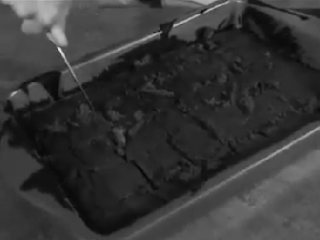 You cut, rip, and tear! But your brownies never turn out square!
