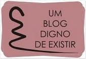 Selo do Blog 'CALMA AMOR'... da Dri!