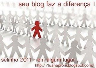 Selo do Blog 'Diário de uma Psi'...