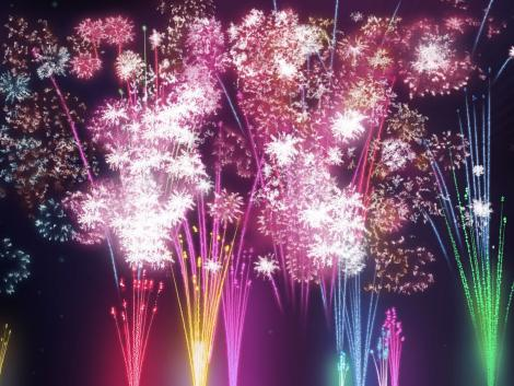 New Year Eve Fireworks Pictures Clipart Champagne