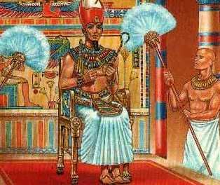 EL ANACRÓNICO FASTO DEL VATICANO Pio_XII_dibujo_flabelos_faraon