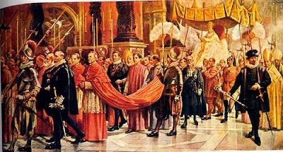 EL ANACRÓNICO FASTO DEL VATICANO Pio_XII_flabelos_cuadro_color