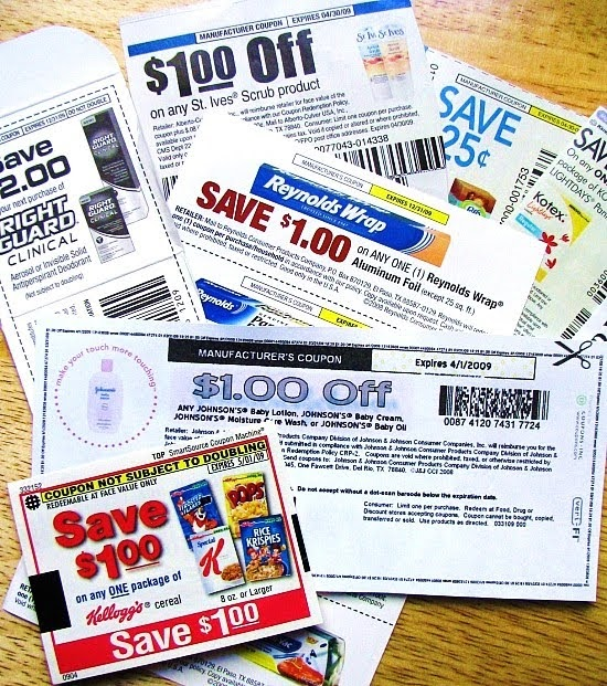 Money off coupons for food shopping