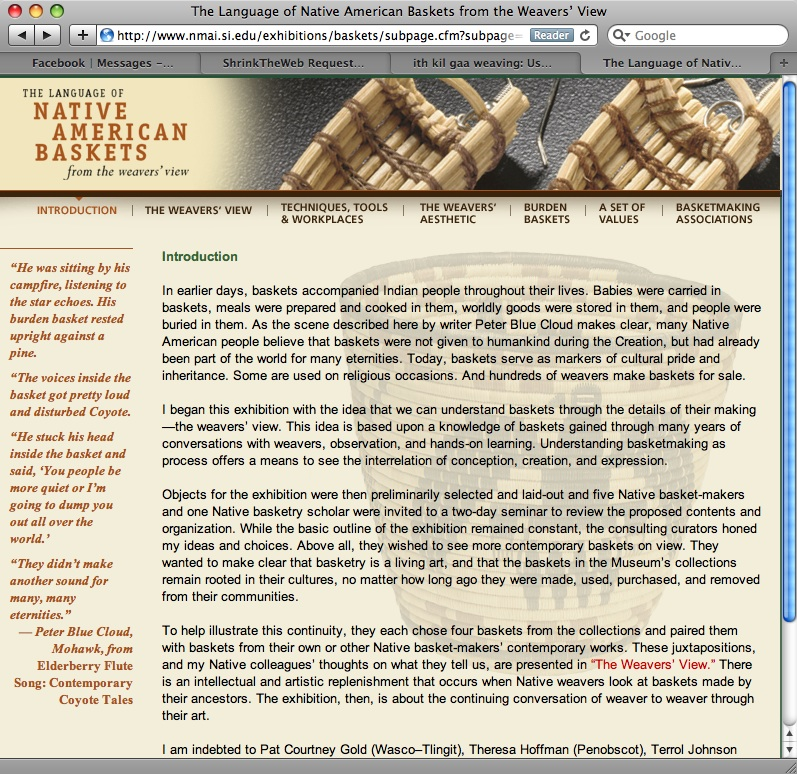 Native American Basket Weaving Instructions : Giihlgiigaa haida weaver basketry how to websites