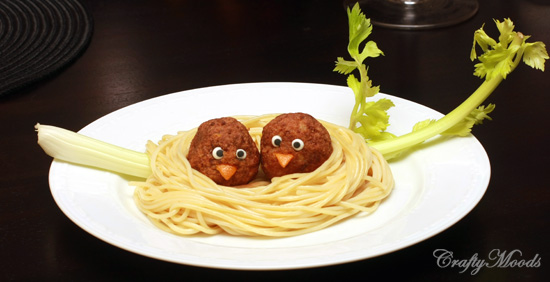CraftyMoods.com Pasta Nests