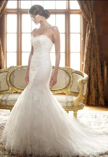 Lace Wedding Dresses 2010