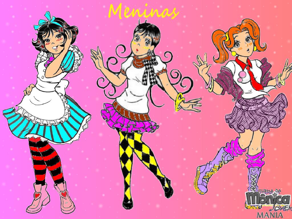 Wallpaper Exclusivo: Mônica, Magali E Denise!
