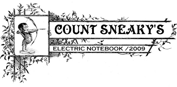 Count Sneaky's Electric Notebook