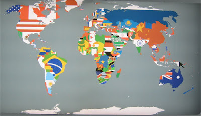 Hella heaven world map made with countries flags world map made with countries flags a good way to memorize flags have a great sunday gumiabroncs Gallery