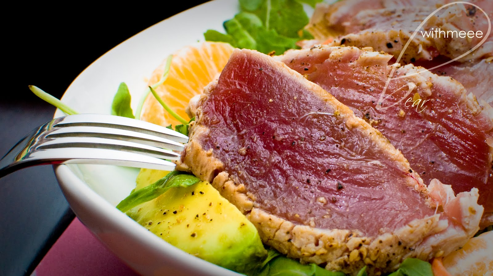 Bearwithmeee: Seared Ahi Tuna