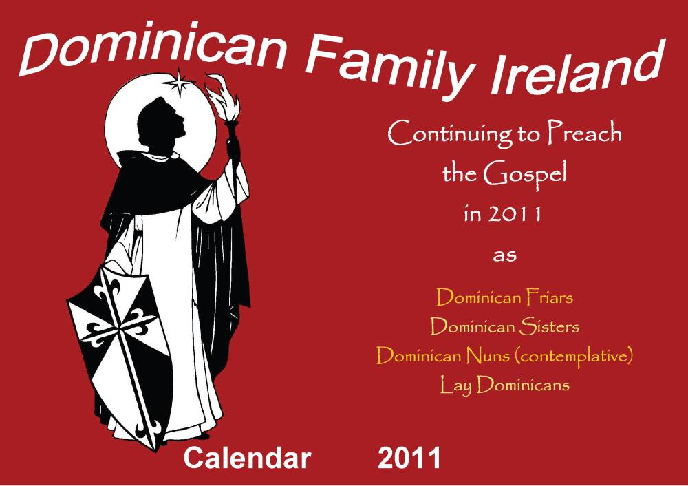 Dominican Nuns Ireland Dominican Calendar For 2011 Published