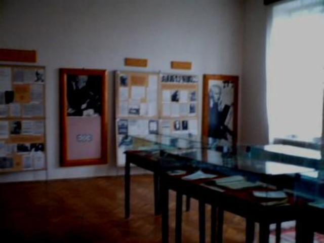 Sala muzeu Bela Bartok