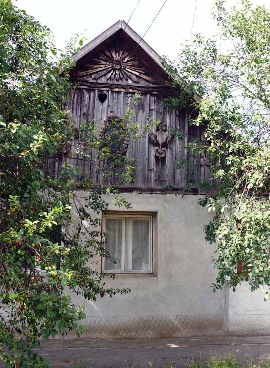Fatada casei construita in anul 1820